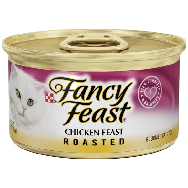 Fancy Feast Wet Roasted Chicken Feast Cat Food