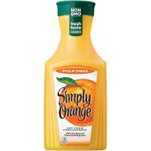 Simply Orange Original Pulp Free Orange Juice, 59.1 Fl Oz