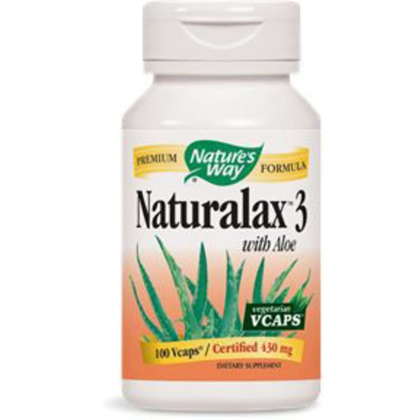 Nature's Way Naturalax 3 with Aloe