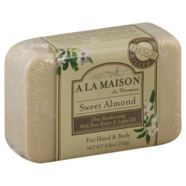 A La Maison Bar Soap for Hand & Body Sweet Almond