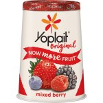 Yoplait Original Mixed Berry Yogurt, 6 oz, 6.0 OZ