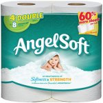 Angel Soft Toilet Paper, 4 Double Rolls, Bath Tissue