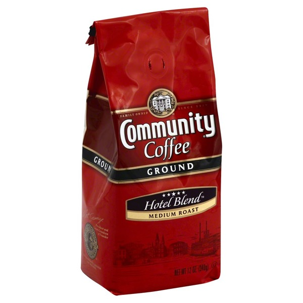 Community Coffee Ground Medium Roast Hotel Blend Coffee