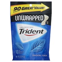 Trident Unwrapped Original Pouch