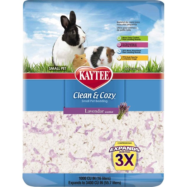 Kaytee Clean & Cozy Small Pet Bedding Lavendar Scented