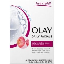 Olay Daily Facials Daily Hydrating Clean Cleansing Cloths 66 ct Box
