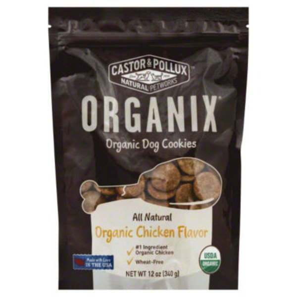 Organix Organic Chicken Flavor Dog Cookies