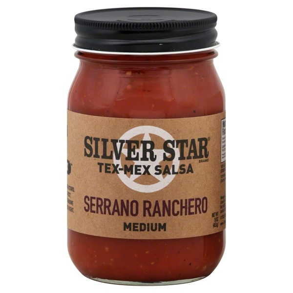 Silver Star Serrano Ranchero Medium Tex-Mex Salsa