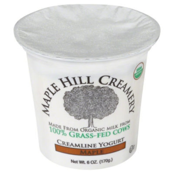 Maple Hill Creamery Yogurt Cream On Top Maple