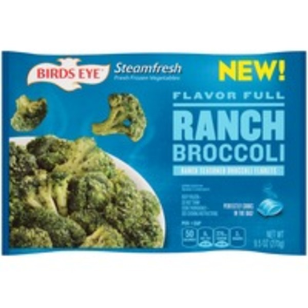 Steamfresh Flavor Full Ranch Broccoli