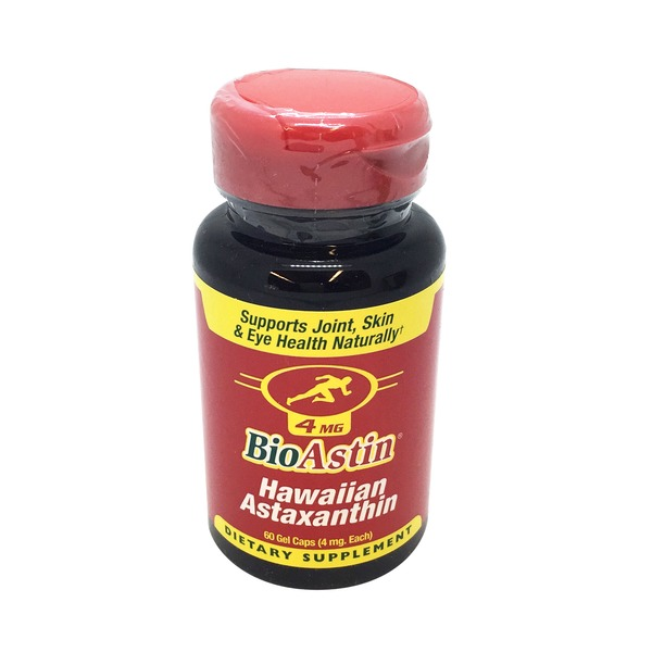 Nutrex Hawaii BioAstin Hawaiian Astaxanthin 4mg Supplement