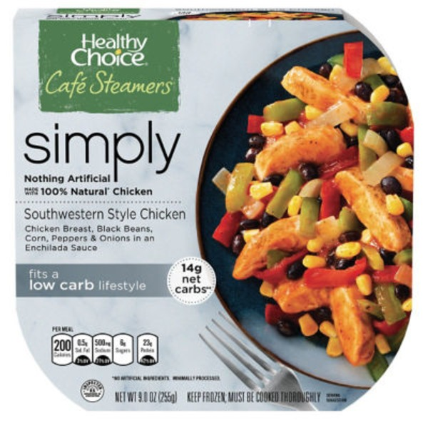 Healthy Choice Southwestern Style Café Steamers