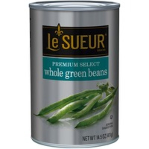 Le Sueur Whole Premium Select Green Beans