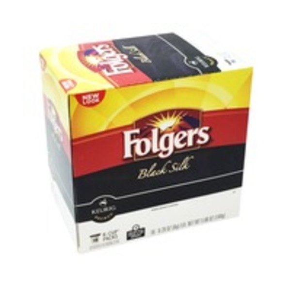 Folgers Black Silk Dark Roast Coffee K-Cup