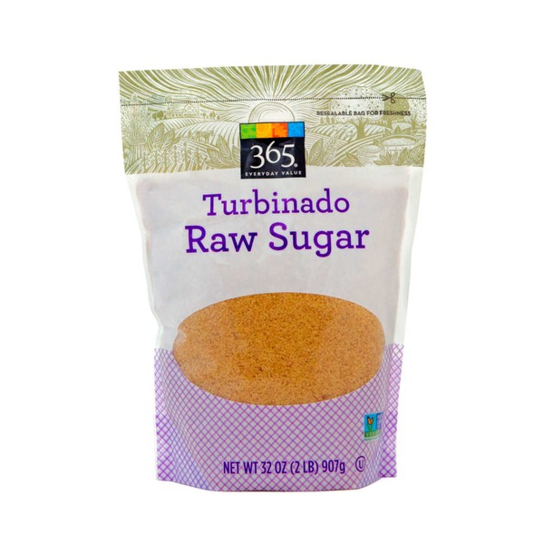 365 Turbinado Raw Cane Sugar