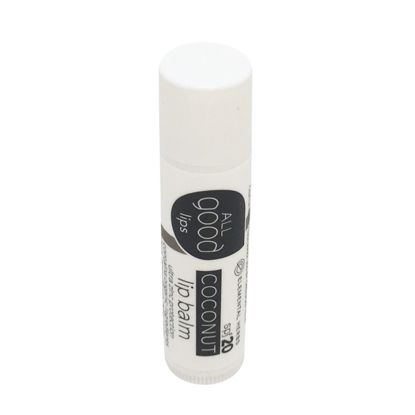 Elemental Herbs All Good Lips Zinc Only Spf 20 Coconut