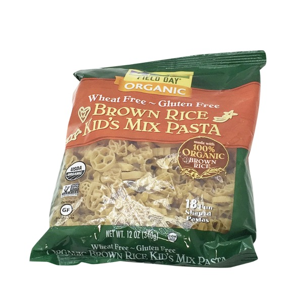 Field Day Organic Gluten Free Brown Rice Kid's Mix Pasta