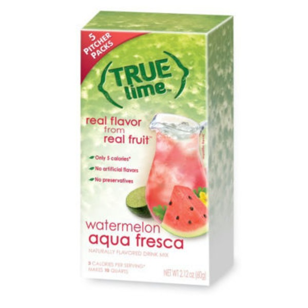 True Lemon Watermelon Powder Drink Mix