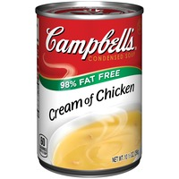 Campbell's 98% Fat Free Cream of Chicken Condensed Soup