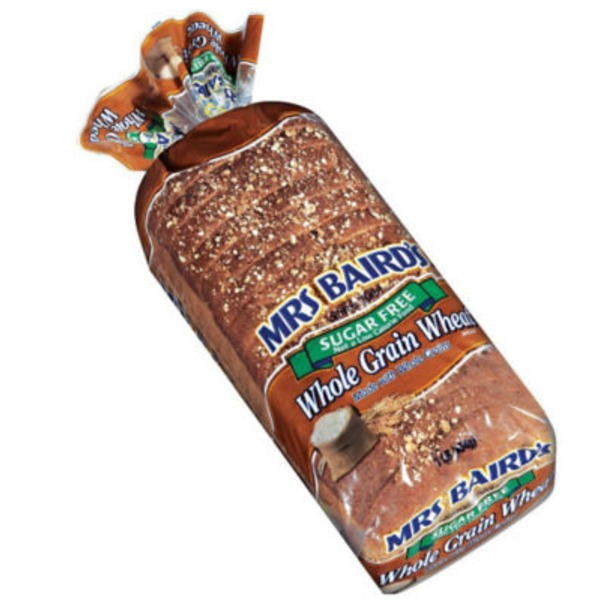 Mrs. Baird's Sugar Free Whole Grain Wheat Bread