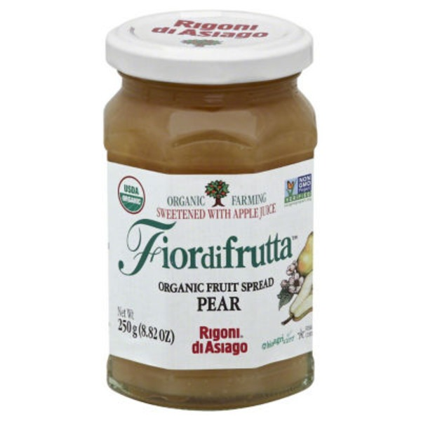 Rigoni di Asiago Organic Pear Fruit Spread