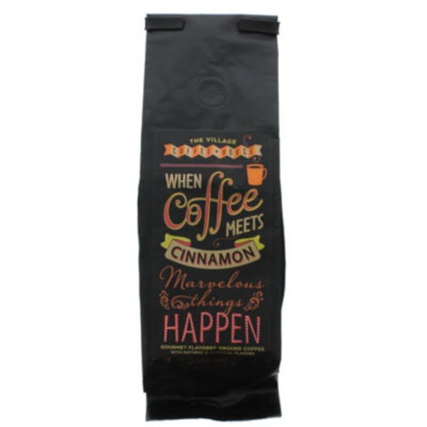 When Coffee Meets Cinnamon Gourmet Flavored Coffee