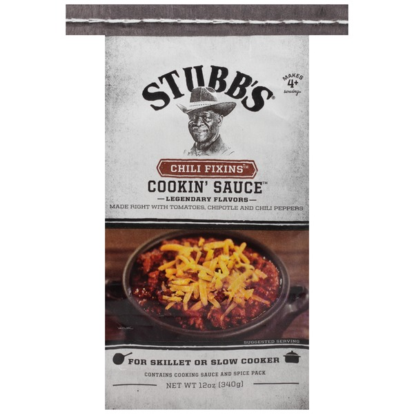 Stubb's Chili Fixins Cooking Sauce
