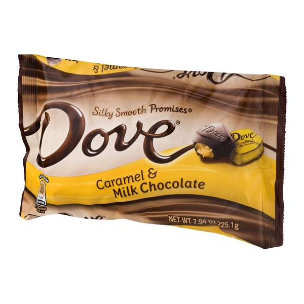 Dove Caramel & Milk Chocolate