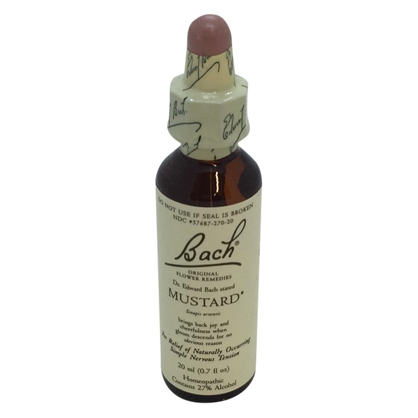 Bach Original Flower Remedies Mustard