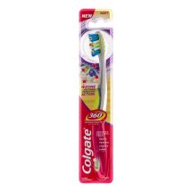 Colgate 360 Advanced 4 Zone Toothbrush, Soft