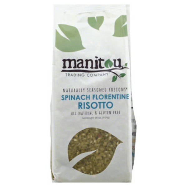 Manitou Trading Spinach Florentine Risotto