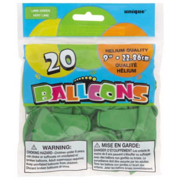 Unique Lime Green Balloons