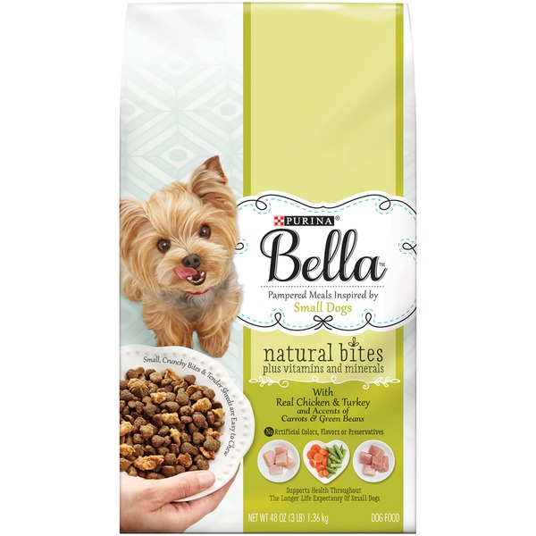 Bellas Natural Bites with Real Chicken & Turkey Dog Food
