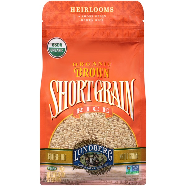 Lundberg Family Farms OG Brn Short Grain Organic Brown Rice