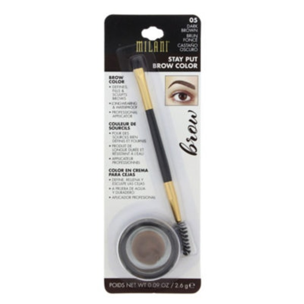 Milani Brow Color, Stay Put, Dark Brown 05