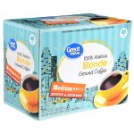 Great Value Blonde Single Serve Cups, Medium Roast, 48 Count