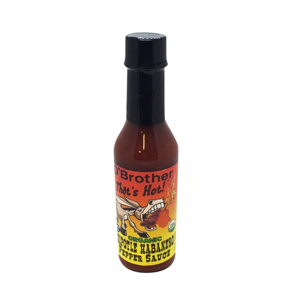 O'Brother That's Hot! Organic Chipotle Habanero Pepper Sauce