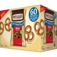Snyder's of Hanover 100 Cal Mini Pretzel Packs