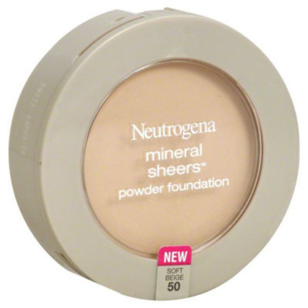 Neutrogena® Powder Foundation Compact Soft Beige/50 Posted 4/3/2014 Mineral Sheers®