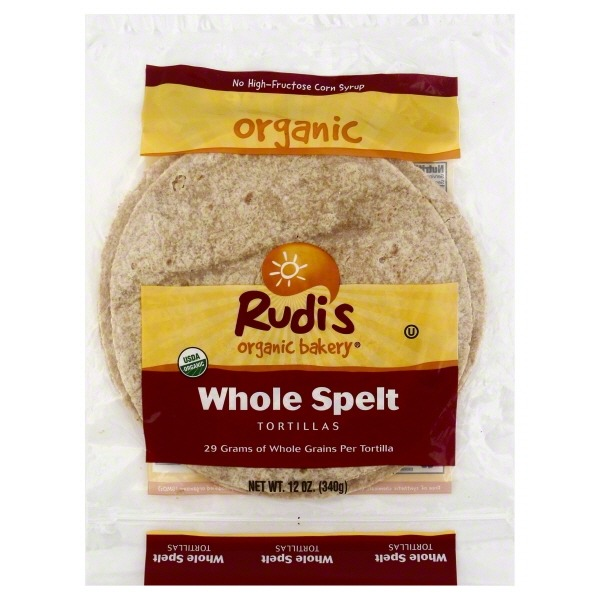 Rudi's Organic Bakery Organic Bakery Tortillas Whole Spelt - 8 CT