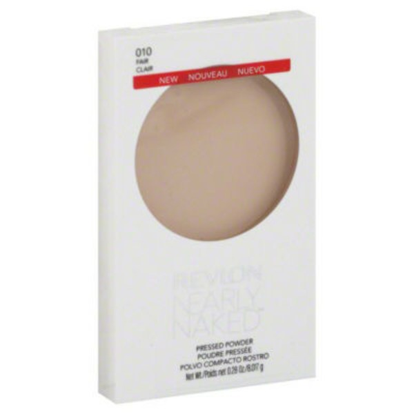 Revlon Nearly Naked Pressed Powder - Fair 010