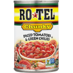 RO*TEL Chunky Diced Tomatoes & Green Chilies, 10 Ounce