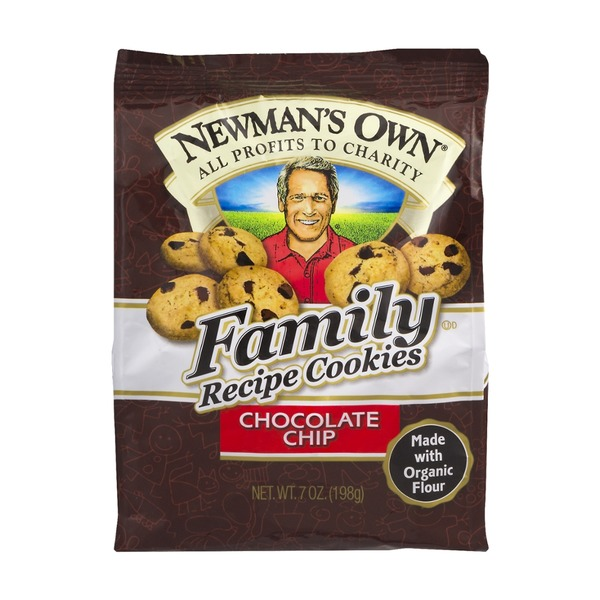 Newman's Own Family Recipe Cookies Chocolate Chip