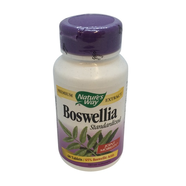 Nature's Way Boswellia Standardized Tablets