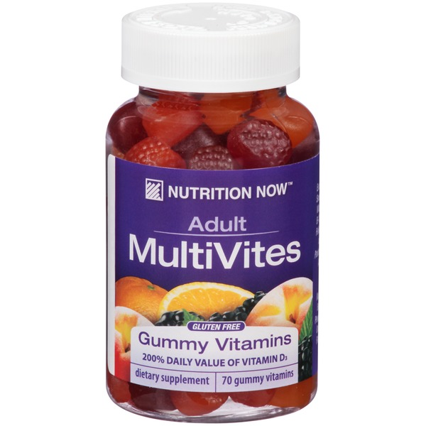 Nutrition Now Adult MultiVites Gummy Vitamins