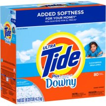 Tide POWDER Ultra Clean Breeze w/TOD 80-Loads - 148oz