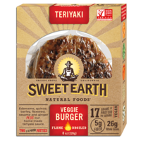 Sweet Earth Teriyaki Veggie Burgers