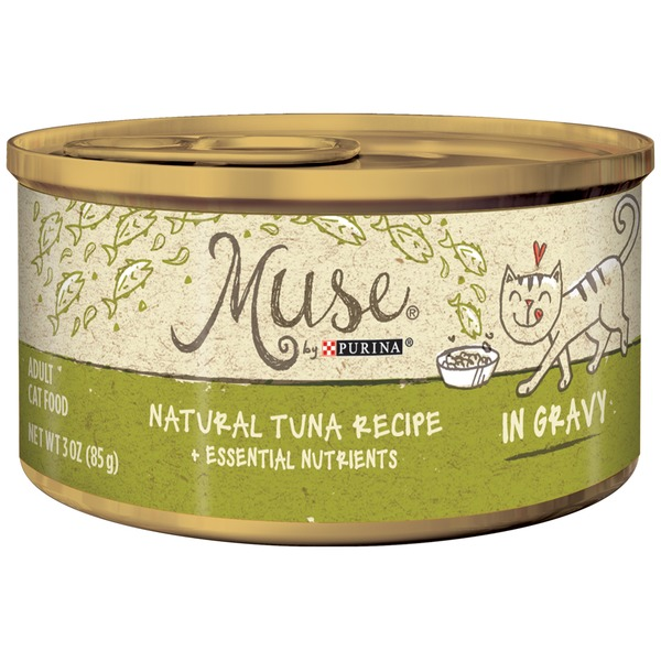 Muse Wet Natural Tuna Recipe in Gravy Cat Food