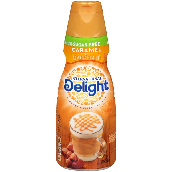 International Delight Sugar Free Caramel Macchiato Coffee Creamer