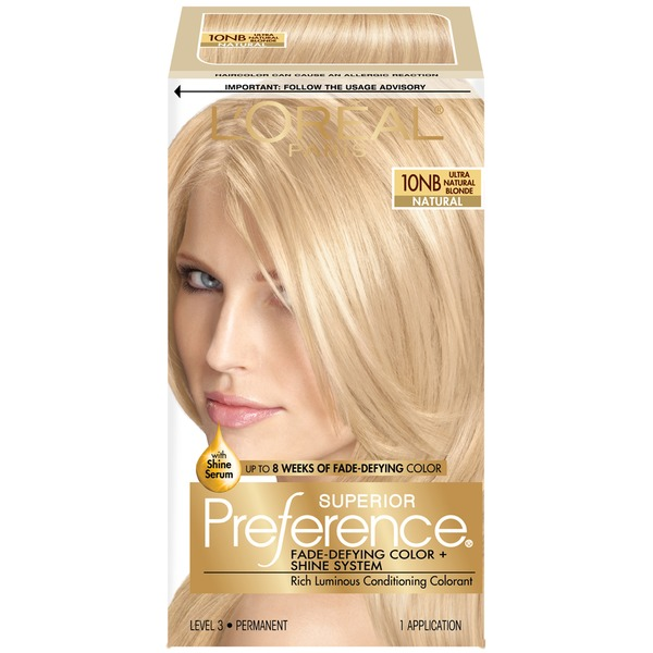 Superior Preference Natural 10NB Ultra Natural Blonde Hair Color